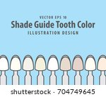 Shade Guide Tooth Color...