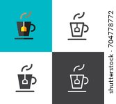 cup of tea | Shutterstock .eps vector #704778772