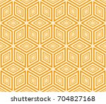 modern decorative ornament with ... | Shutterstock . vector #704827168