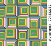 seamless abstract pattern with... | Shutterstock .eps vector #704832382