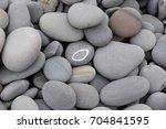 Gray Stone Background   Pebble...