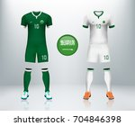 saudi arabia home and away... | Shutterstock .eps vector #704846398