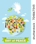 poster for international day of ... | Shutterstock .eps vector #704867545