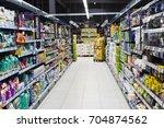 hainburg an der donau  austria  ... | Shutterstock . vector #704874562