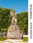 sculpture of hades abducting... | Shutterstock . vector #704885548