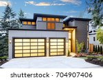 beautiful exterior of... | Shutterstock . vector #704907406