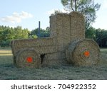 Hay Bales Creativity As An Old...