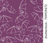 bat vector illustration. cute...   Shutterstock .eps vector #704929672