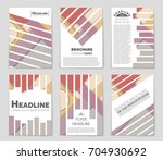 abstract vector layout... | Shutterstock .eps vector #704930692