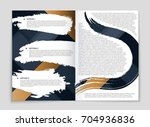 abstract vector layout... | Shutterstock .eps vector #704936836