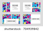 abstract vector layout... | Shutterstock .eps vector #704939842