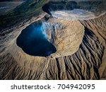 Mountain Bromo Active Volcano...