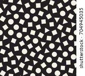 seamless primitive jumble... | Shutterstock .eps vector #704945035