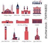 selimiye mosque  sahibiye...   Shutterstock .eps vector #704946802