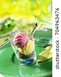 strawberry vanilla and...   Shutterstock . vector #704963476
