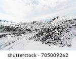 falljokull  'falling glacier' ... | Shutterstock . vector #705009262
