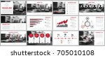 design element of infographics... | Shutterstock .eps vector #705010108