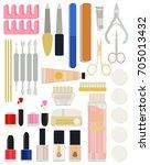 a collection set vector of...   Shutterstock .eps vector #705013432