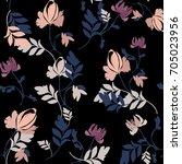 flower pattern | Shutterstock .eps vector #705023956