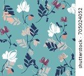 flower pattern | Shutterstock .eps vector #705024052