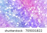 pink purple and violet lilac... | Shutterstock . vector #705031822