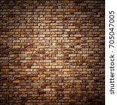 brick wall background | Shutterstock . vector #705047005