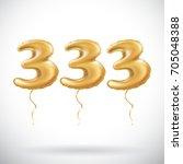 raster copy 333 anniversary... | Shutterstock . vector #705048388