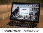 chiang mai  thailand aug 29 ... | Shutterstock . vector #705061912