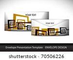 envelop design presentation... | Shutterstock .eps vector #70506226