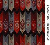 ethnic boho seamless pattern.... | Shutterstock .eps vector #705070915