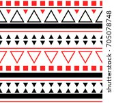 seamless abstract vector...   Shutterstock .eps vector #705078748