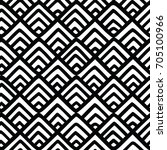 seamless vector pattern with... | Shutterstock .eps vector #705100966