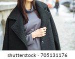 details of women's clothing....   Shutterstock . vector #705131176
