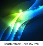 vector abstract illuminated...   Shutterstock .eps vector #705157798
