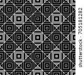 ethnic seamless surface pattern ... | Shutterstock .eps vector #705181282