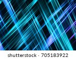 abstract blue background with... | Shutterstock . vector #705183922