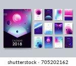 Calendar 2018. Vector Template...