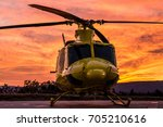 a front side wildfire...   Shutterstock . vector #705210616