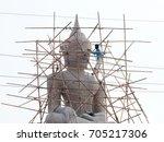 Small photo of Create a Buddha image ,Creating Buddhas