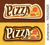 Vector Banners For Pizza  Labe...