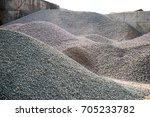 industrial background with pile ... | Shutterstock . vector #705233782