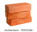 Stack Of Old Red Bricks...