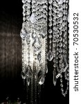 Crystal Strass Lamp White Over...