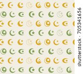 seamless pattern with symbol of ... | Shutterstock .eps vector #705341656