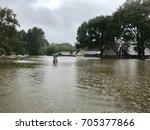 hurricane harvey 2017  flooding ... | Shutterstock . vector #705377866