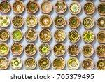 oposhnya  ukraine   august 2017 ... | Shutterstock . vector #705379495