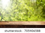 wooden table background | Shutterstock . vector #705406588