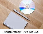 mock up of blank printable... | Shutterstock . vector #705435265