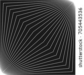 abstract vector monochrome... | Shutterstock .eps vector #705443536