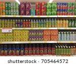 aeon big supermarket  petaling... | Shutterstock . vector #705464572